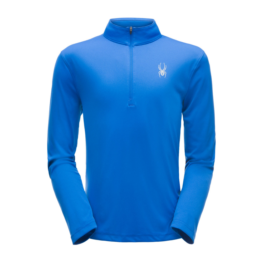 Spyder Limitless Solid Zip T-Neck Mens Mid Layer