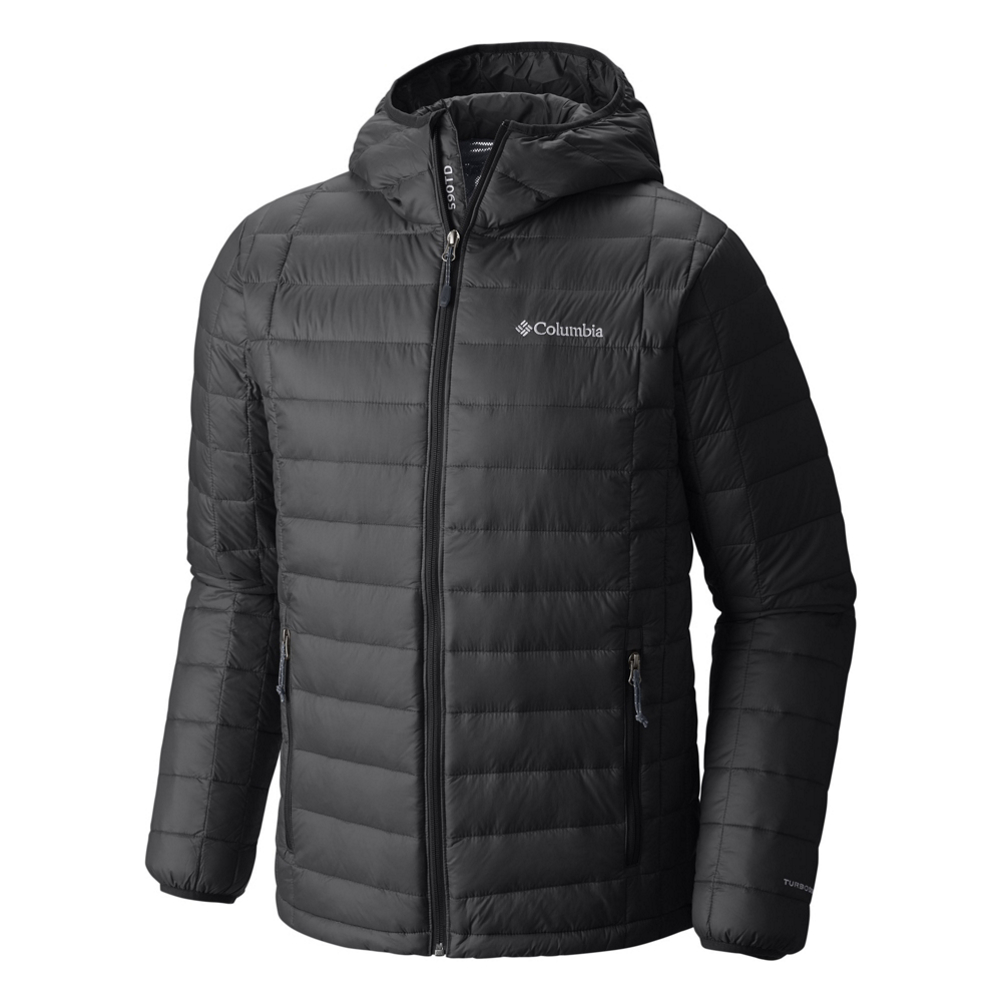 Columbia VooDoo Falls 590 TurboDown Hooded - Big Mens Jacket