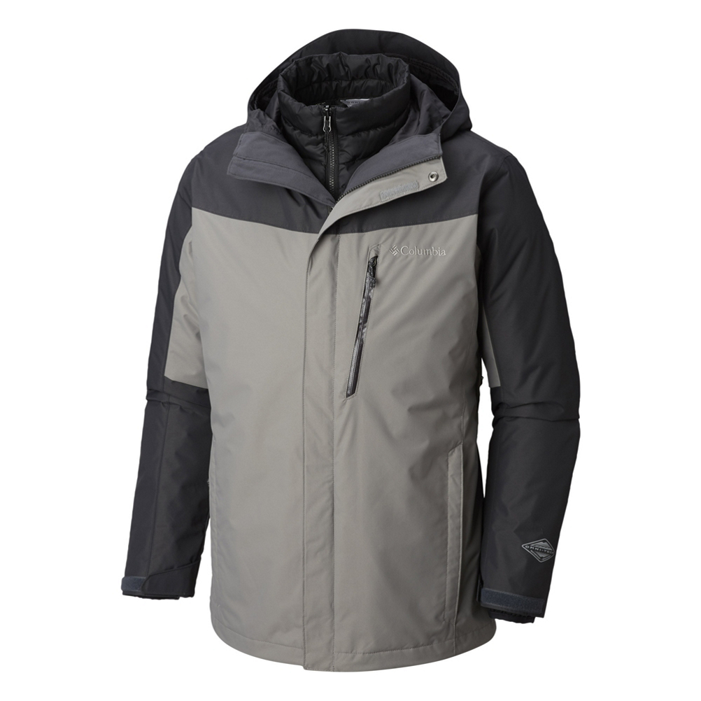 Columbia Whirlibird III Interchange Mens Insulated Ski Jacket