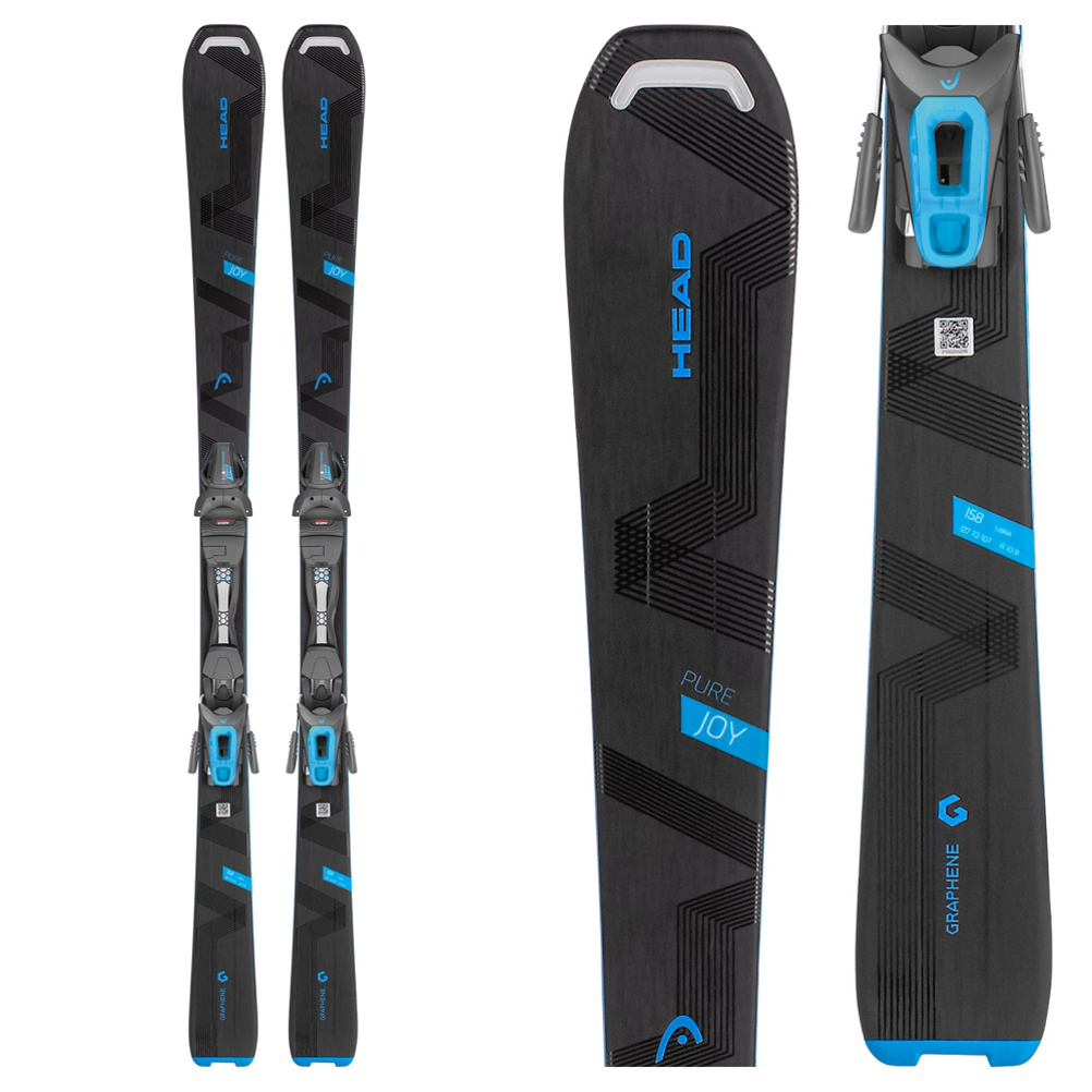 Head Pure Joy Womens Skis with Joy 9 GW Bindings 2019