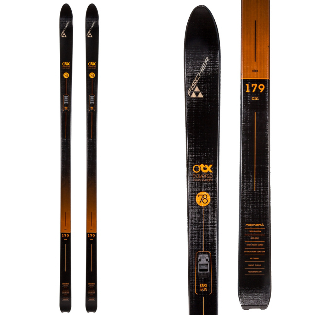 Pr. 120cm Alpina Sports ASC-XT Back-Country Cross-Country Nordic Ski Poles with Round Baskets