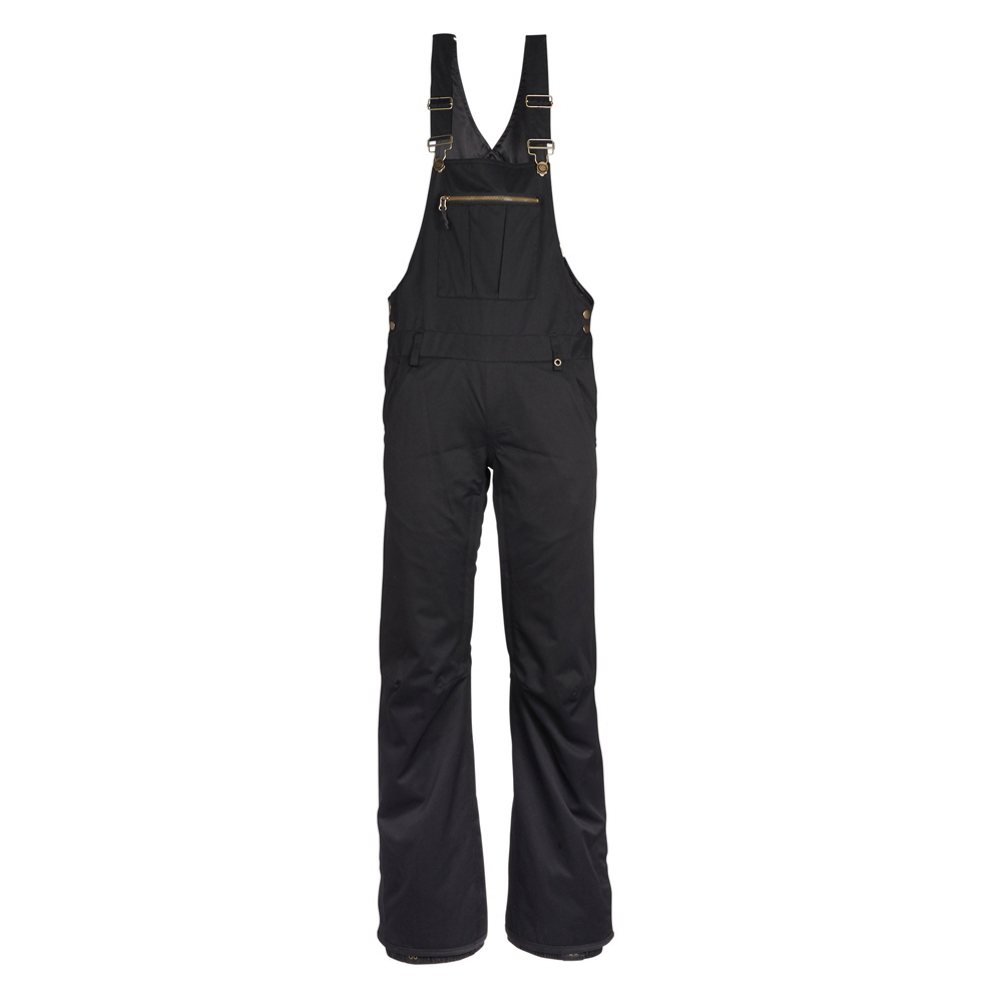 686 Black Magic Overall Womens Snowboard Pants