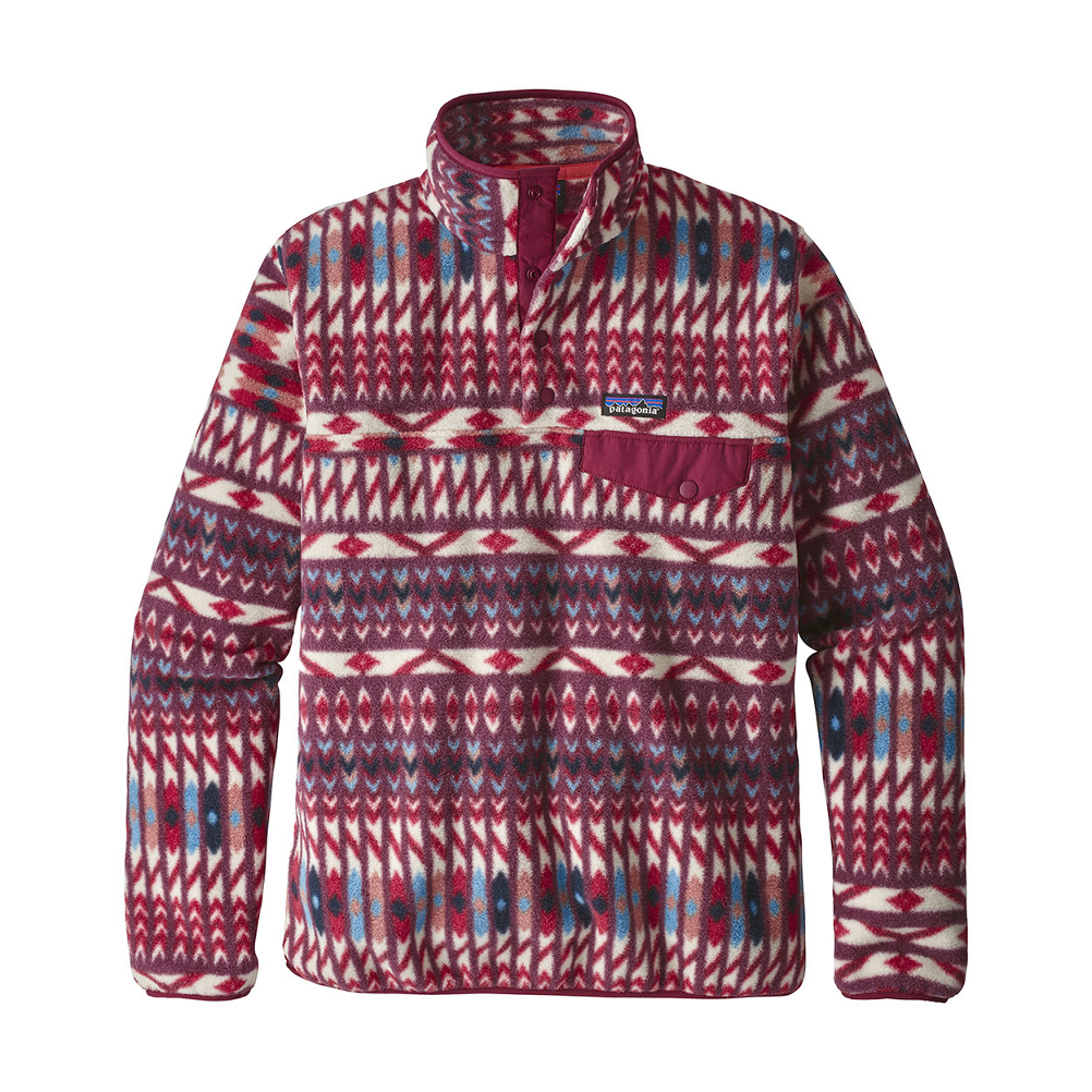 Patagonia Lightweight Synchilla Snap-T Fleece Pullover Womens Mid Layer