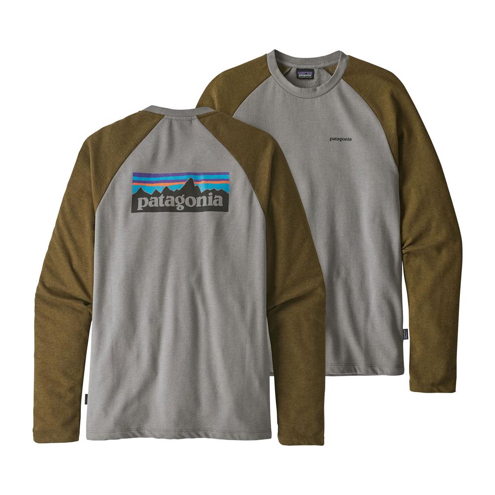 Patagonia P-6 Logo Lightweight Crew Mens Sweatshirt