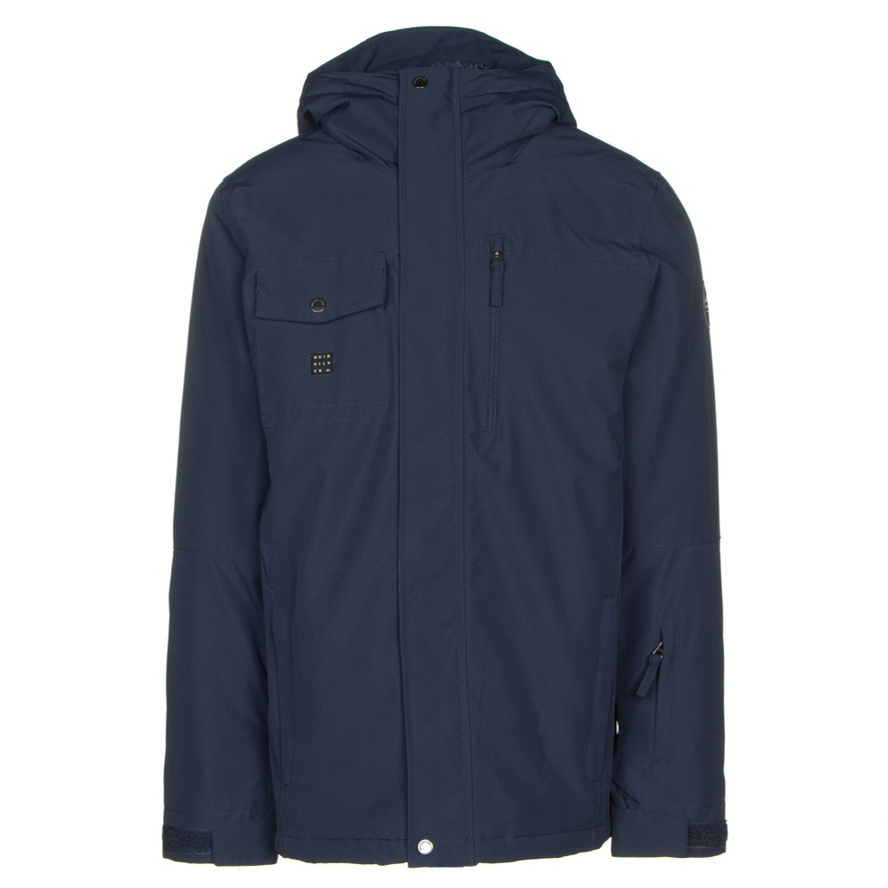 Quiksilver Mission Solid Mens Insulated Snowboard Jacket