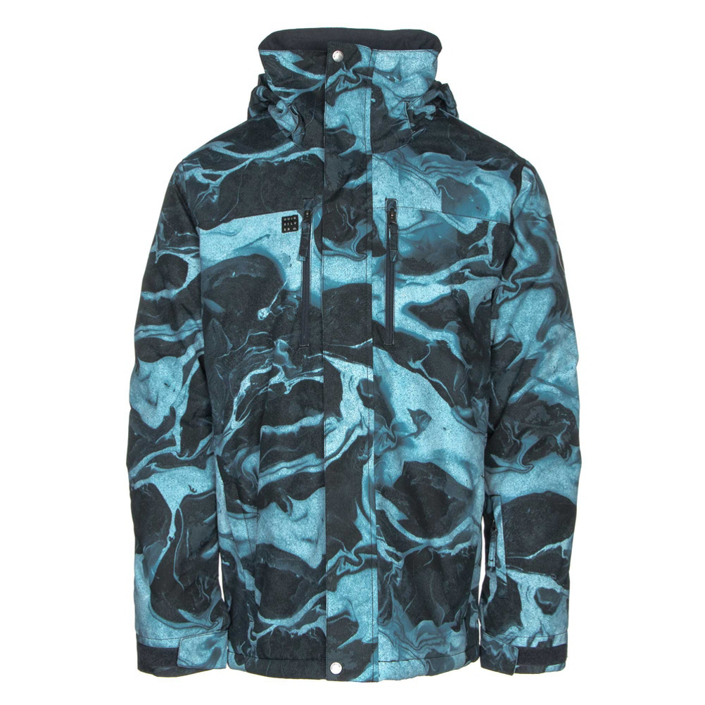 Quiksilver Mission Printed Mens Insulated Snowboard Jacket