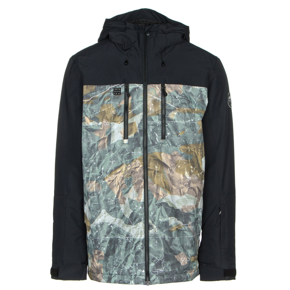 Quiksilver Mission Block Mens Insulated Snowboard Jacket