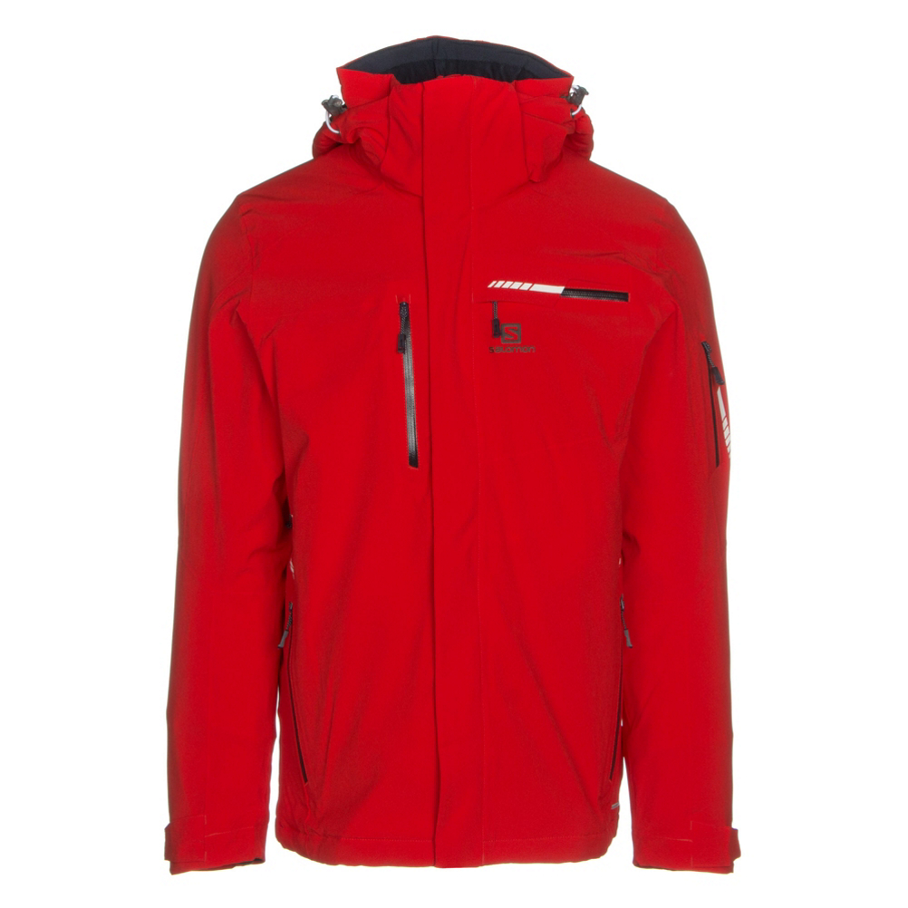 Salomon Brilliant Mens Insulated Ski Jacket
