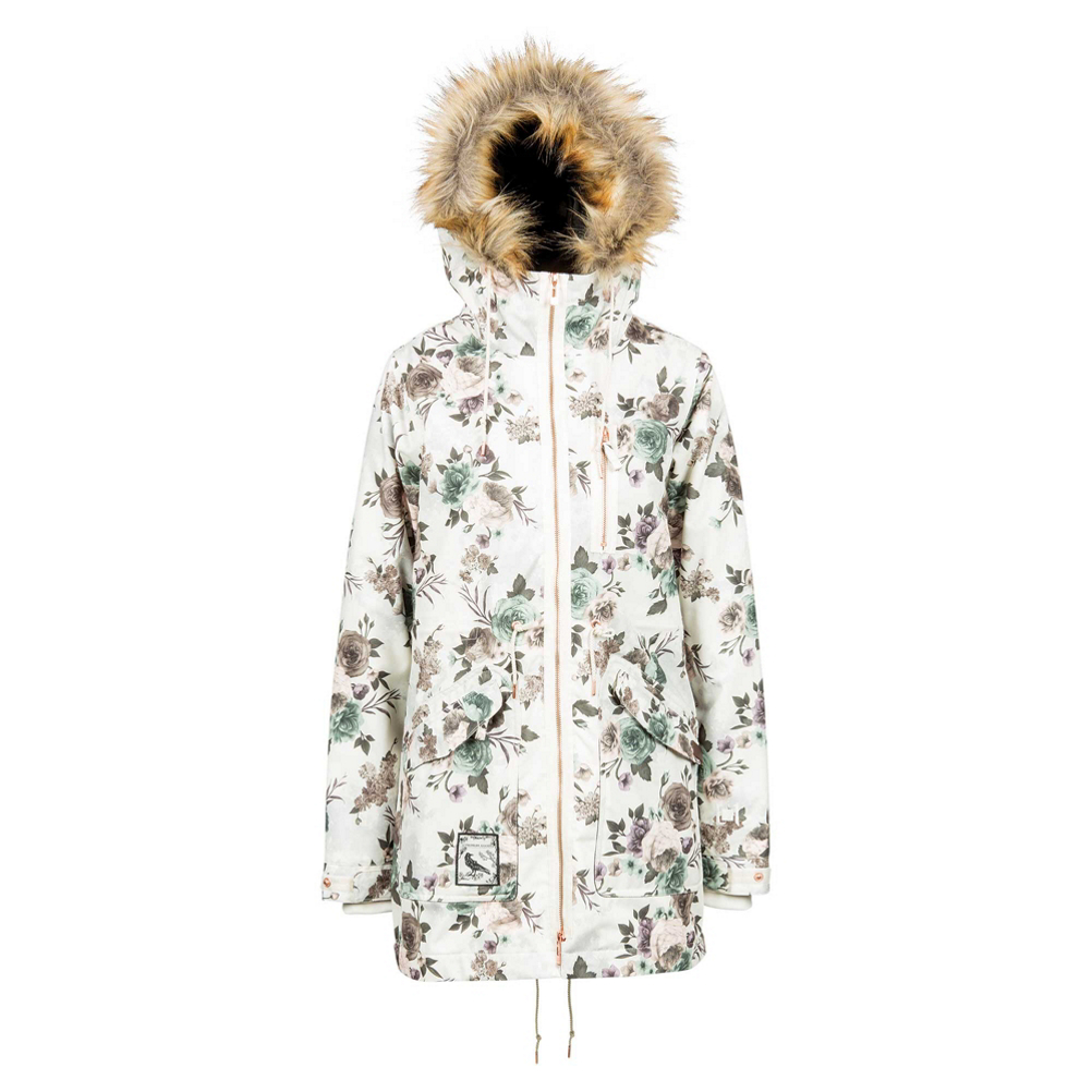 L1 Premium Goods Fairbanks w/Faux Fur Womens Insulated Snowboard Jacket