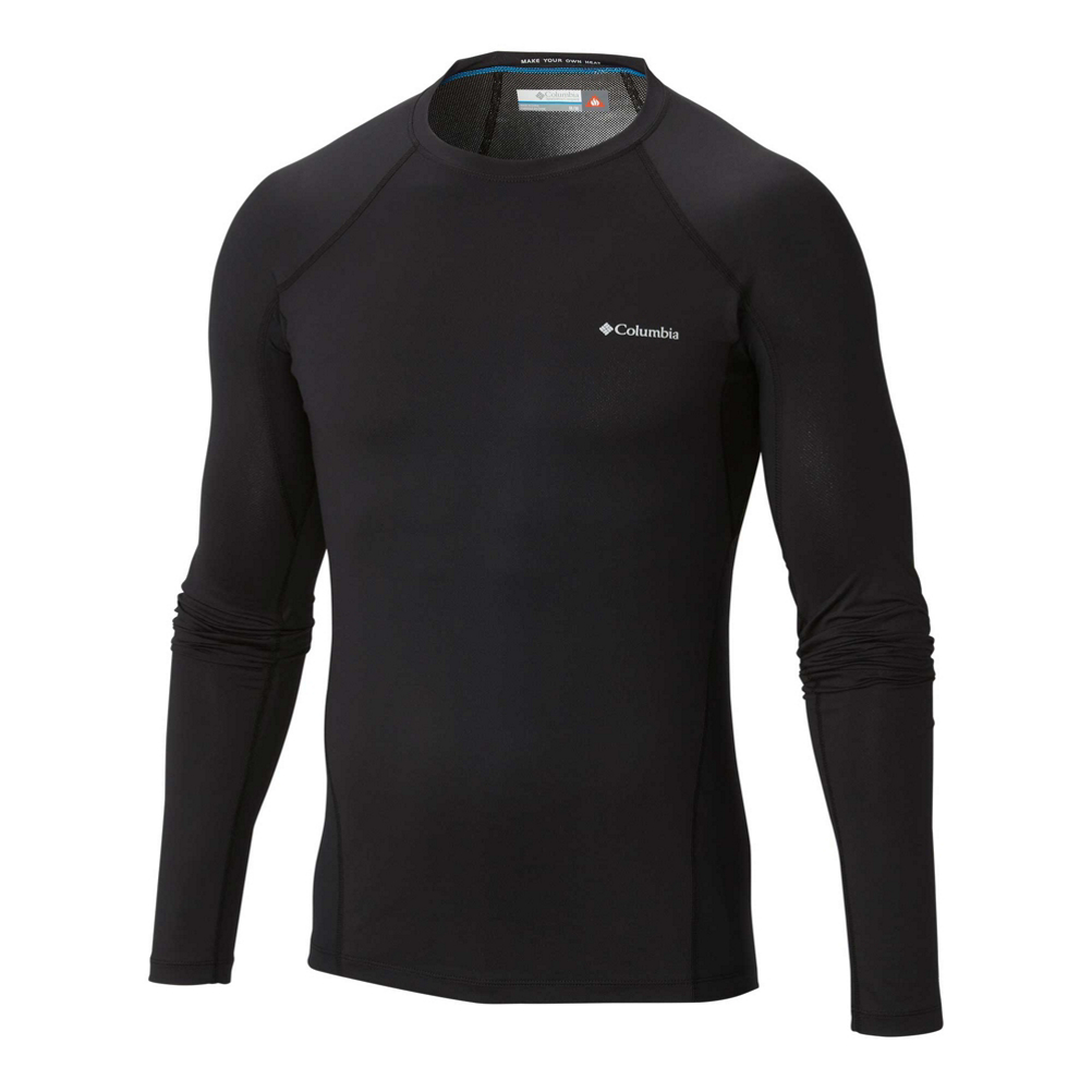 Columbia Midweight Stretch Plus Mens Long Underwear Top