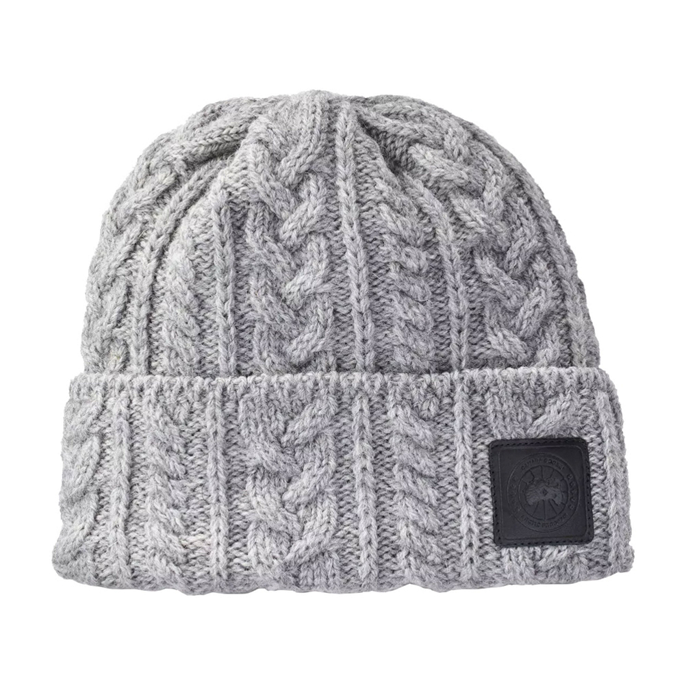 Canada Goose Chunky Wool Beanie Womens Hat