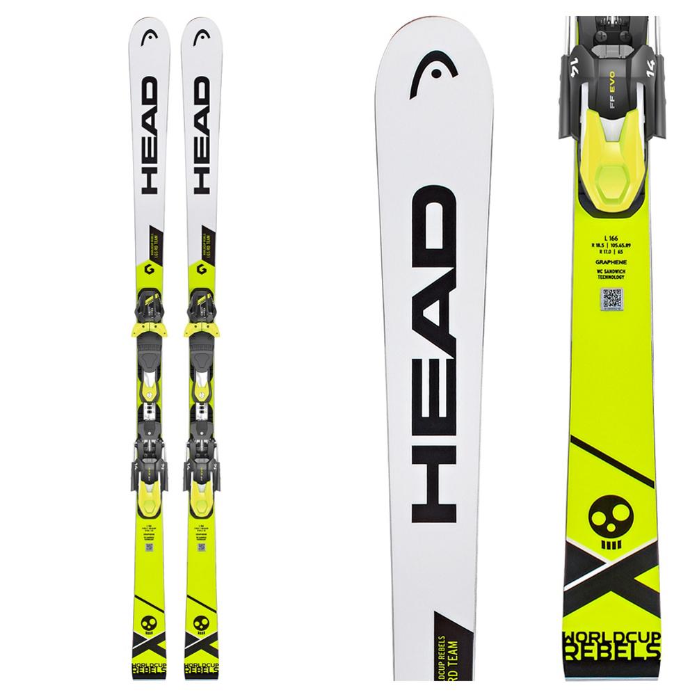 Head WC Rebels i.GS RD Team Junior Race Skis 2019