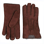 UGG Sheepskin Leather Trim Mens Gloves