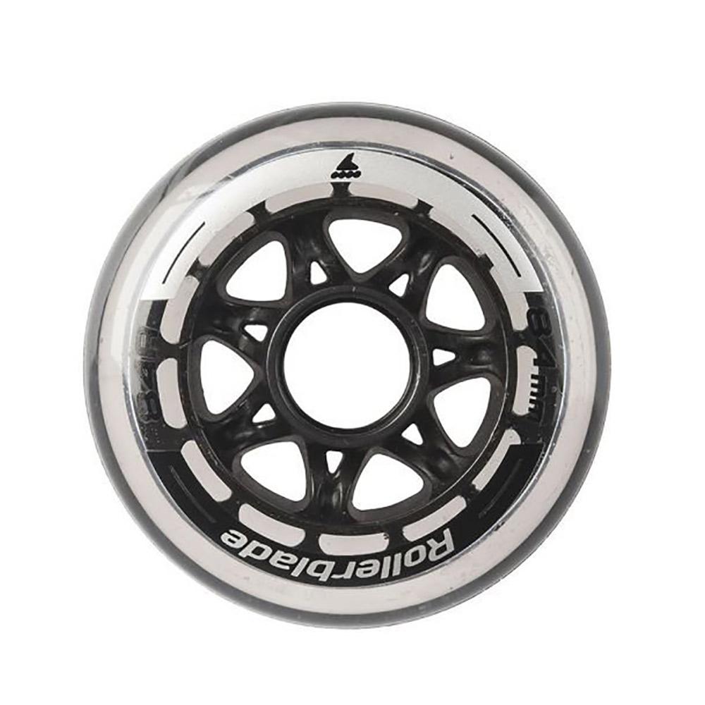 Rollerblade Wheels Pack 84mm/84A Inline Skate Wheels - 8 Pack 2019