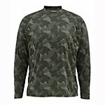 Simms Solarflex Long Sleeve Print Crew Mens Shirt