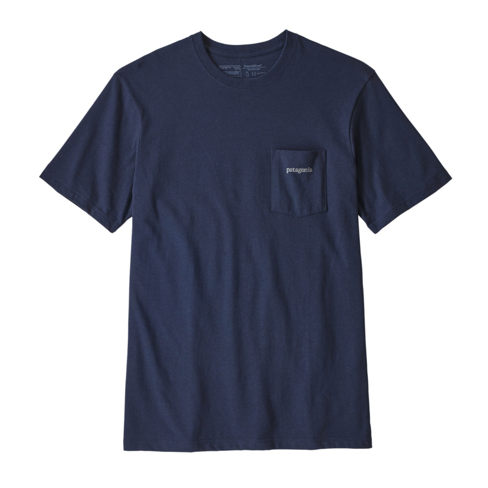 Patagonia Line Logo Ridge Pocket Responsibili-Tee Mens T-Shirt