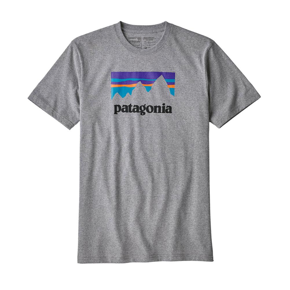 Patagonia Shop Sticker Responsibili-Tee Mens T-Shirt