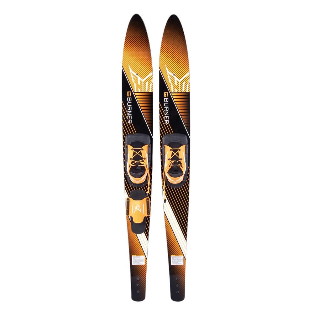 HO Sports Burner Combo Water Skis With Blaze Bindings 2019