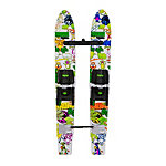 Radar Skis Firebolt Trainers Junior Combo Water Skis With Adjustable class=