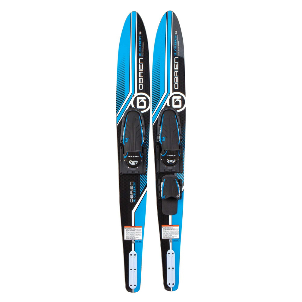 O'Brien Celebrity Junior Combo Water Skis With Jr. X-7 Adjustable Bindings 2019