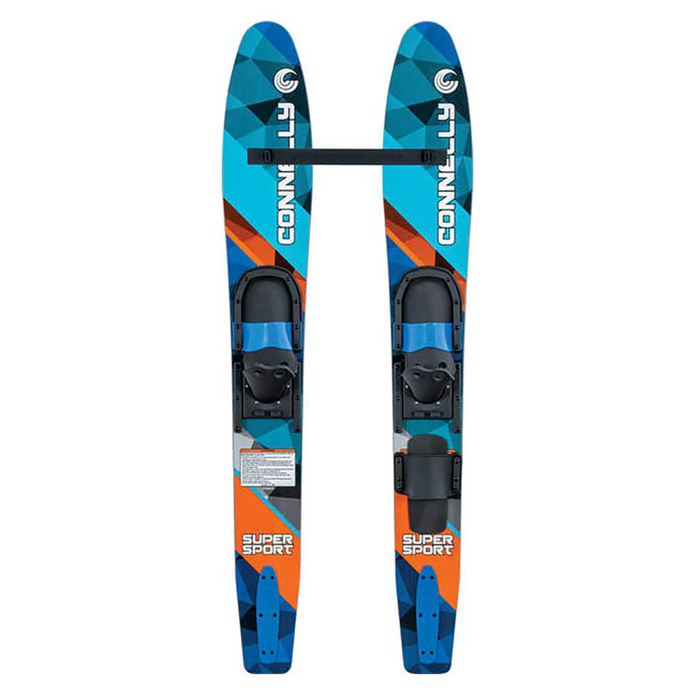 Connelly Super Sport Junior Combo Water Skis With Junior Slide Adjustable Bindings 2019