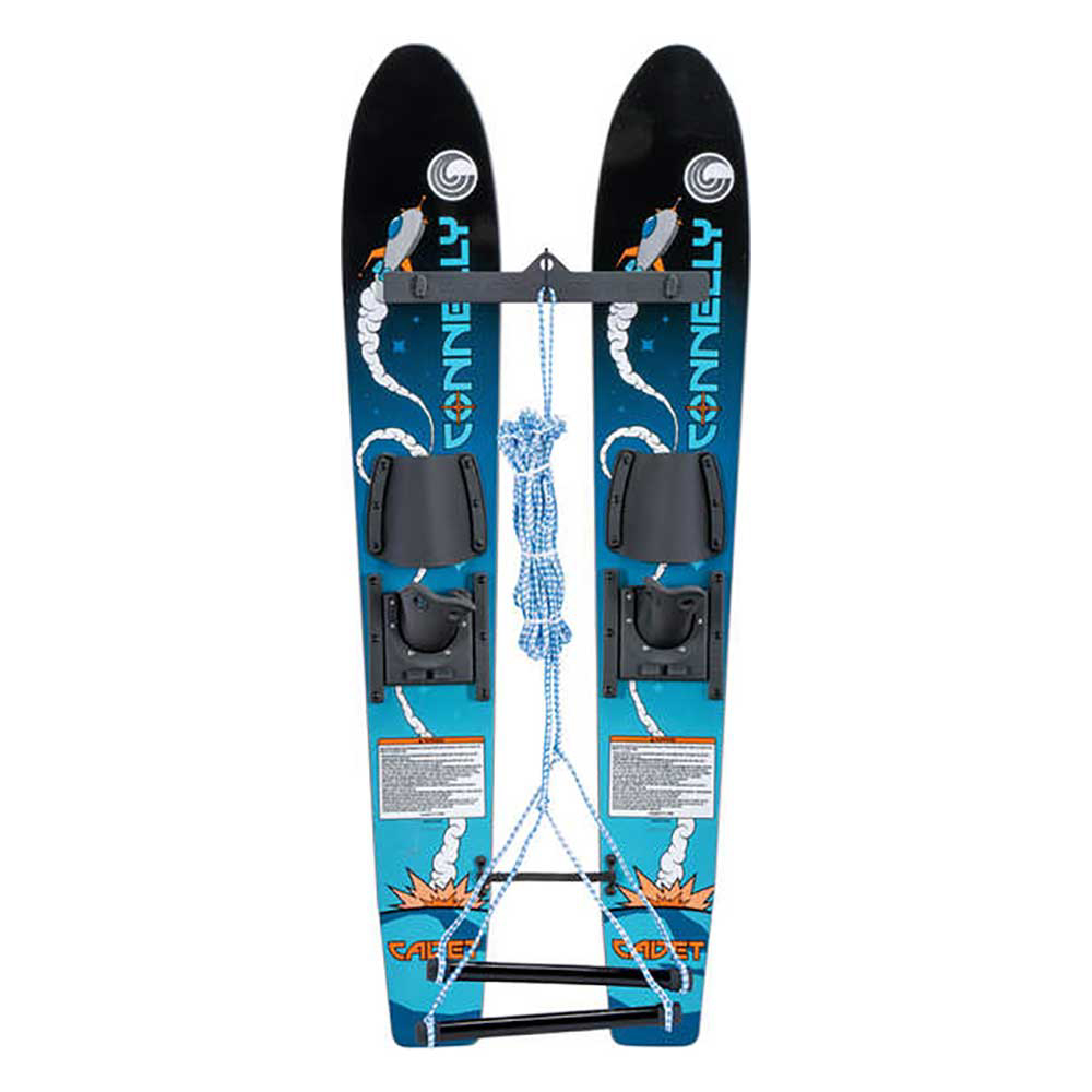 Connelly Cadet Junior Combo Water Skis With Child Slide Adjustable Bindings 2019