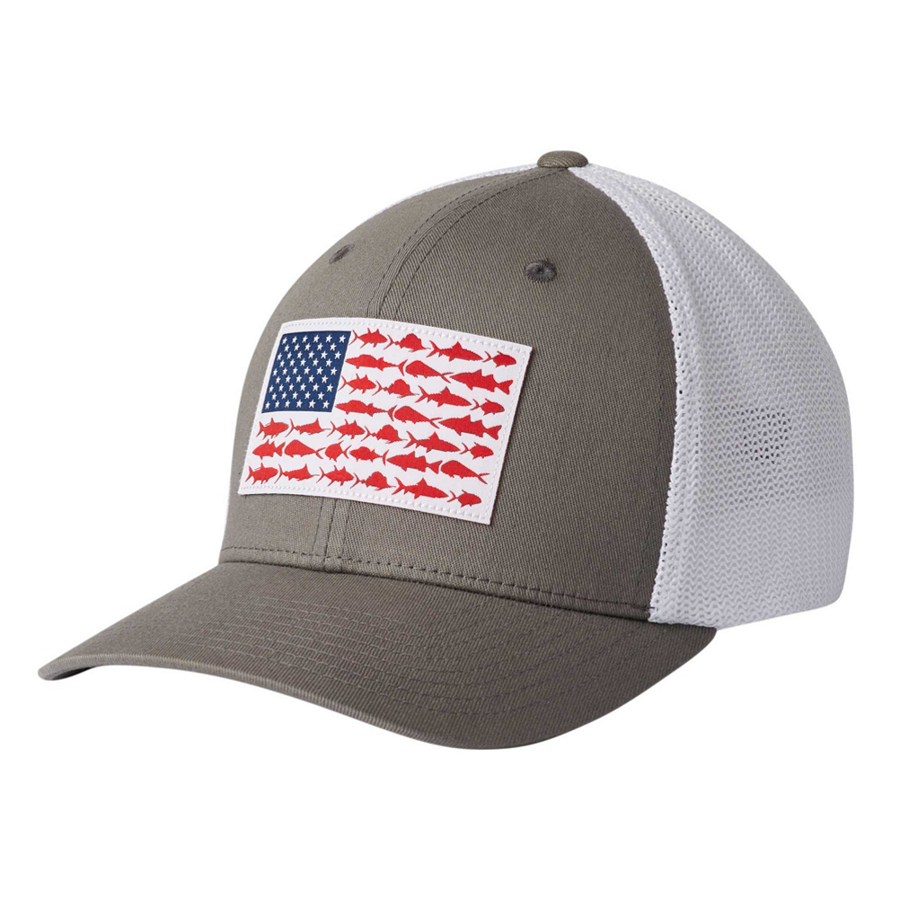 Columbia PFG Mesh Fish Flag Hat