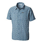 Columbia Pilsner Peak II Print Short Sleeve Mens Shirt