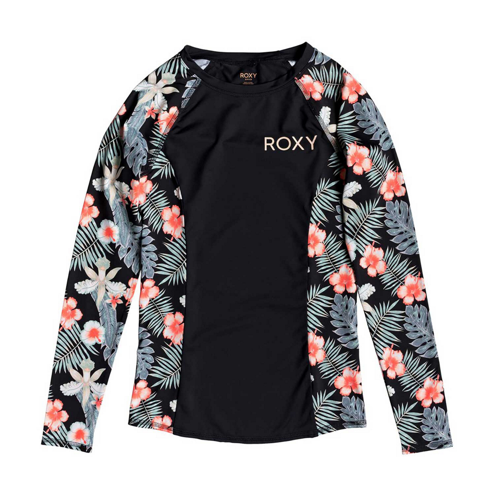 Roxy Long Sleeve Fashion Lycra Womens Rash Guard