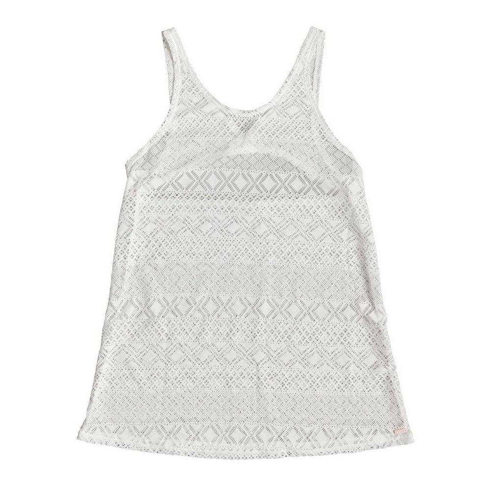 Roxy Garden Summer Crochet Beach Dress Bathing Suit Cover Up