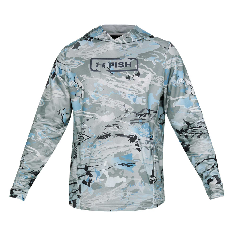 Under Armour Dockside Camo Terry Mens Hoodie