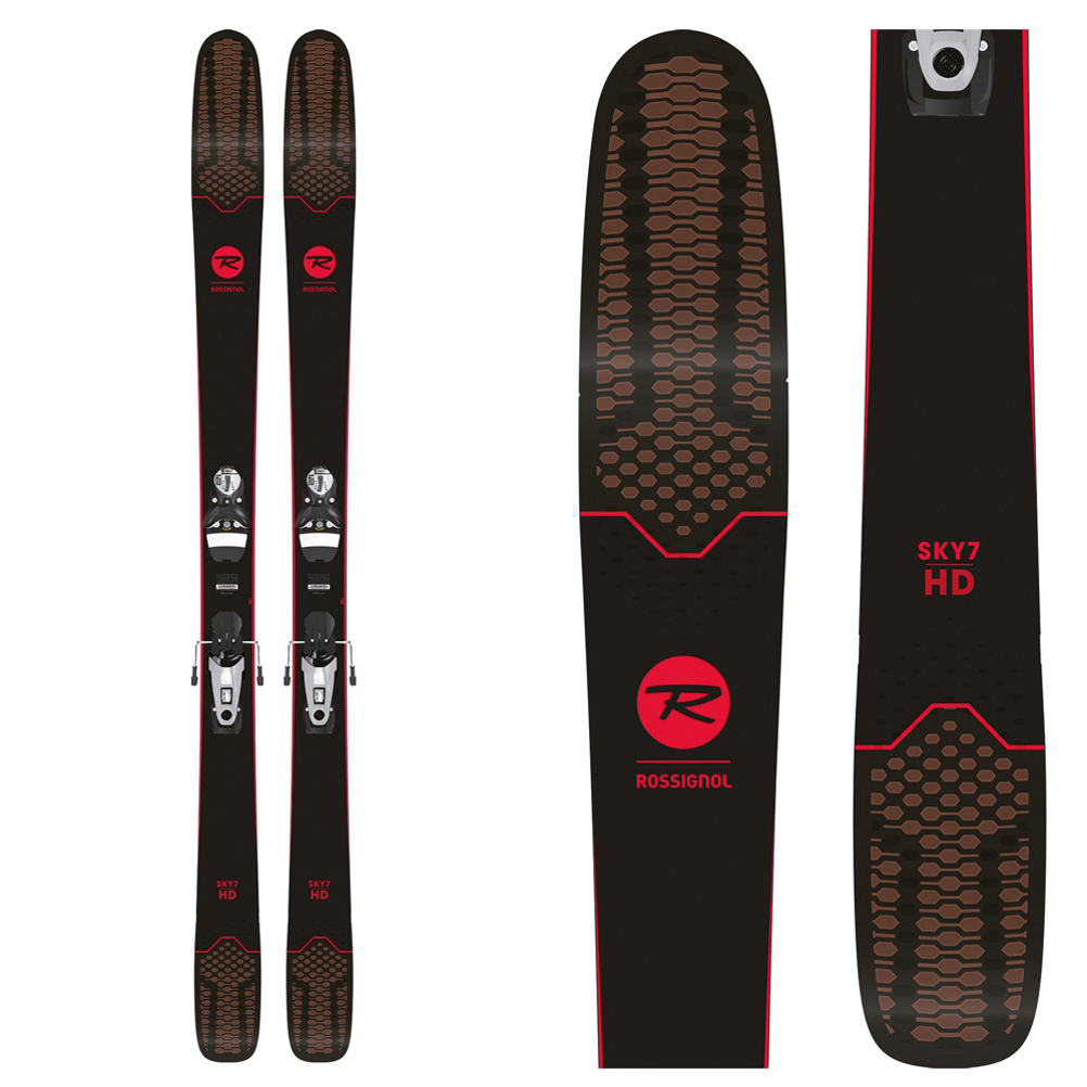 Rossignol Sky 7 HD Skis with SPX 12 Konect Bindings 2019