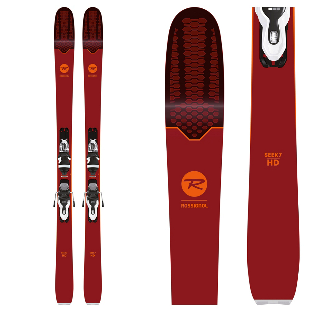 Rossignol Seek 7 HD Skis with Xpress 10 Bindings 2019