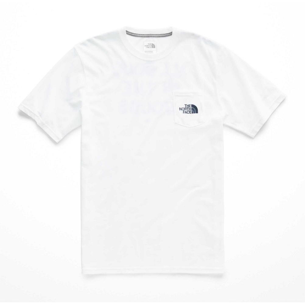 The North Face Camping Notes Pocket Mens T-Shirt