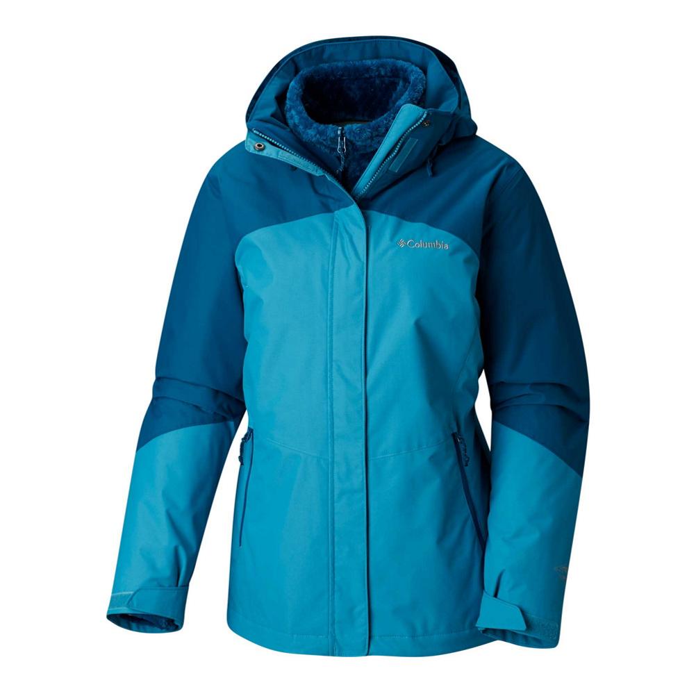 Columbia Bugaboo II Fleece Interchange Womens Insulated Ski Jacket