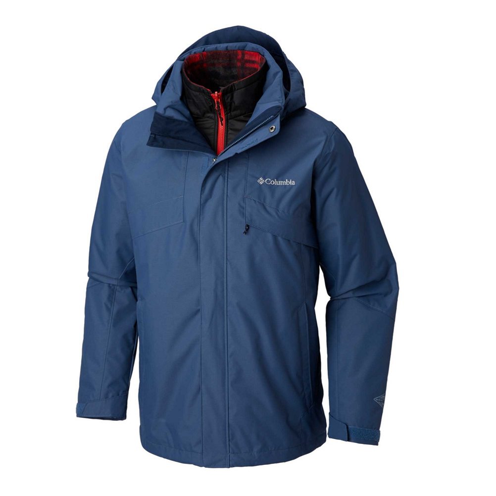 Columbia Bugaboo II Fleece Interchange Mens Insulated Ski Jacket