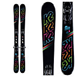 K2 Dreamweaver Kids Skis with FDT Jr 4.5 Bindings 2020