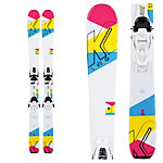 K2 Luvbug Kids Skis with FDT Jr 4.5 Bindings 2020