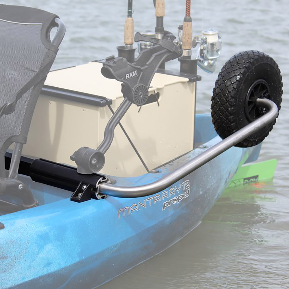 Boonedox Groovy Landing Gear Kayak Wheel System Hobie Outback 2019