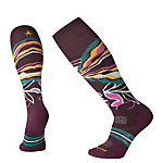 SmartWool PhD Ski Medium Patterned Womens Ski Socks