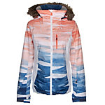 Roxy Jet Ski Premium Faux Fur Womens Insulated Snowboard Jacket