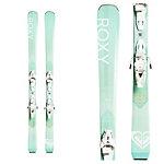 Roxy Dreamcatcher 80 Womens Skis with Roxy Lithium 10 GW by Salomon Bindings 2020