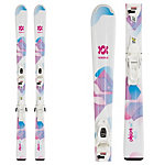 Volkl Chica Kids Skis with vMotion 4.5 Bindings 2020