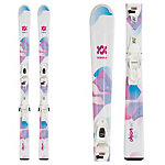 Volkl Chica Kids Skis with vMotion 7.0 Bindings 2020