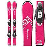 Salomon QST Lux Jr S Kids Skis with C5 GW Bindings 2020