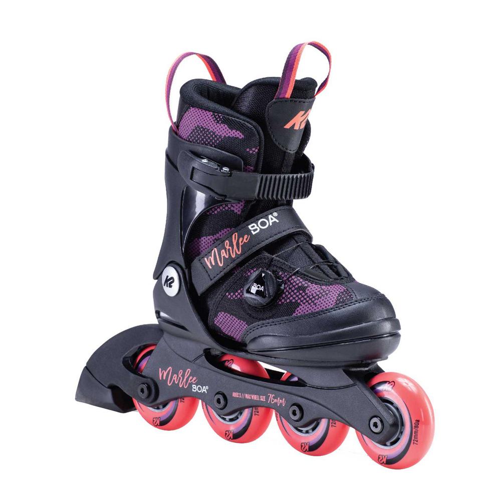 K2 Marlee Boa Adjustable Girls Inline Skates