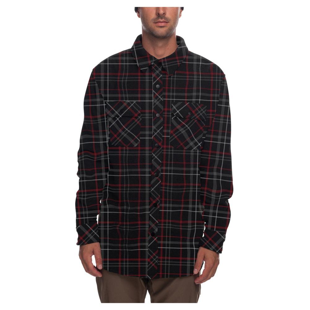 Image of 686 Sierra Men's Fleece Flannel Shirt