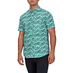 Hurley Waves Short Sleeve Mens Shirt