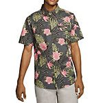 Hurley Lanai Stretch Short Sleeve Mens Shirt