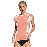 Roxy Short Sleeve Fashion Lycra Womens Rash Guard
